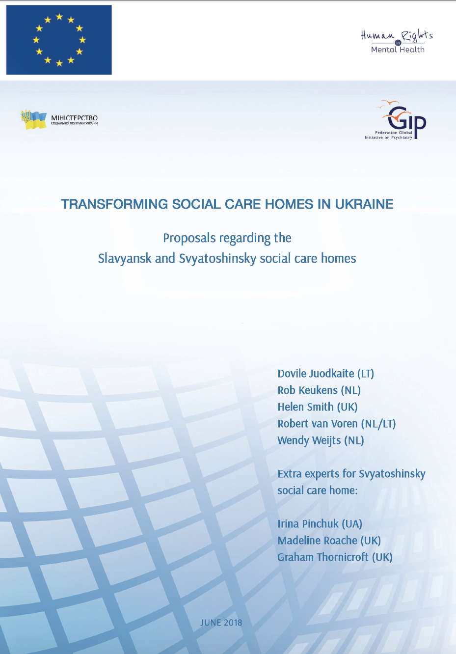 Social and psychological centers in Odessa and region: a selection of sites